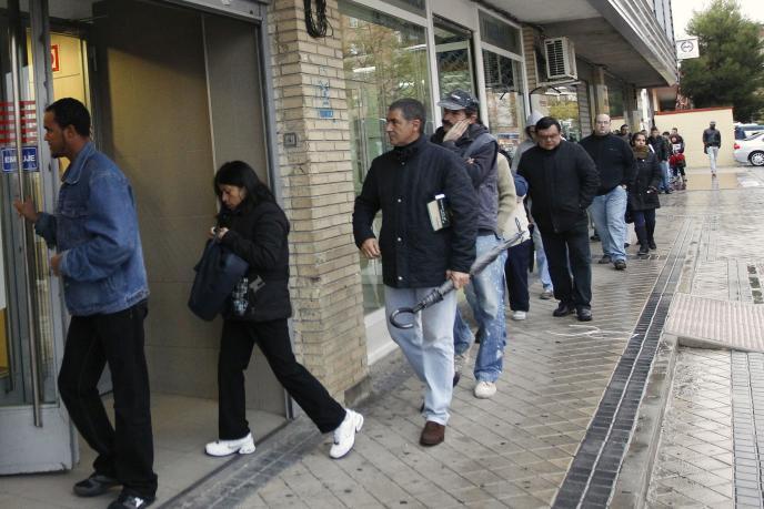 Informe sobre el paro en la eurozona y España