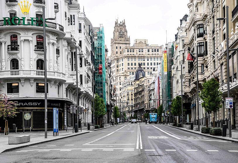 Efectos del confinamiento en Madrid