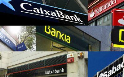 Los bancos de España: Cobran 0.33% a las empresas por guardar dinero