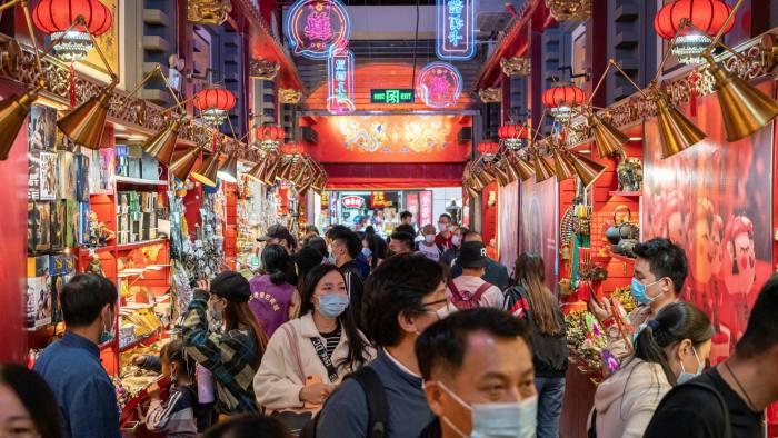 La economía de China crece