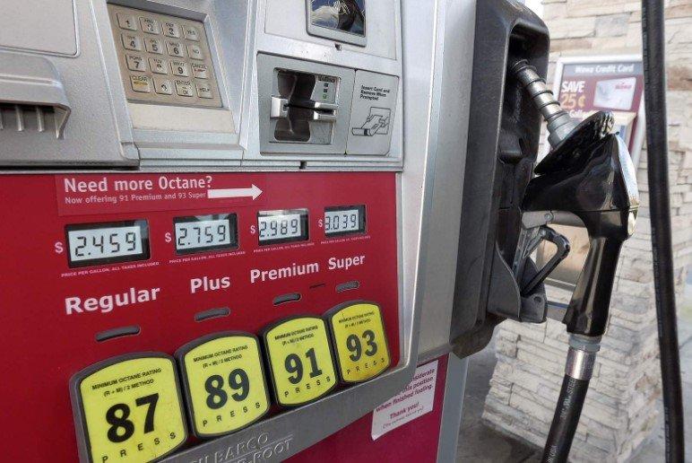 Gasolina en Estados Unidos aumenta 1