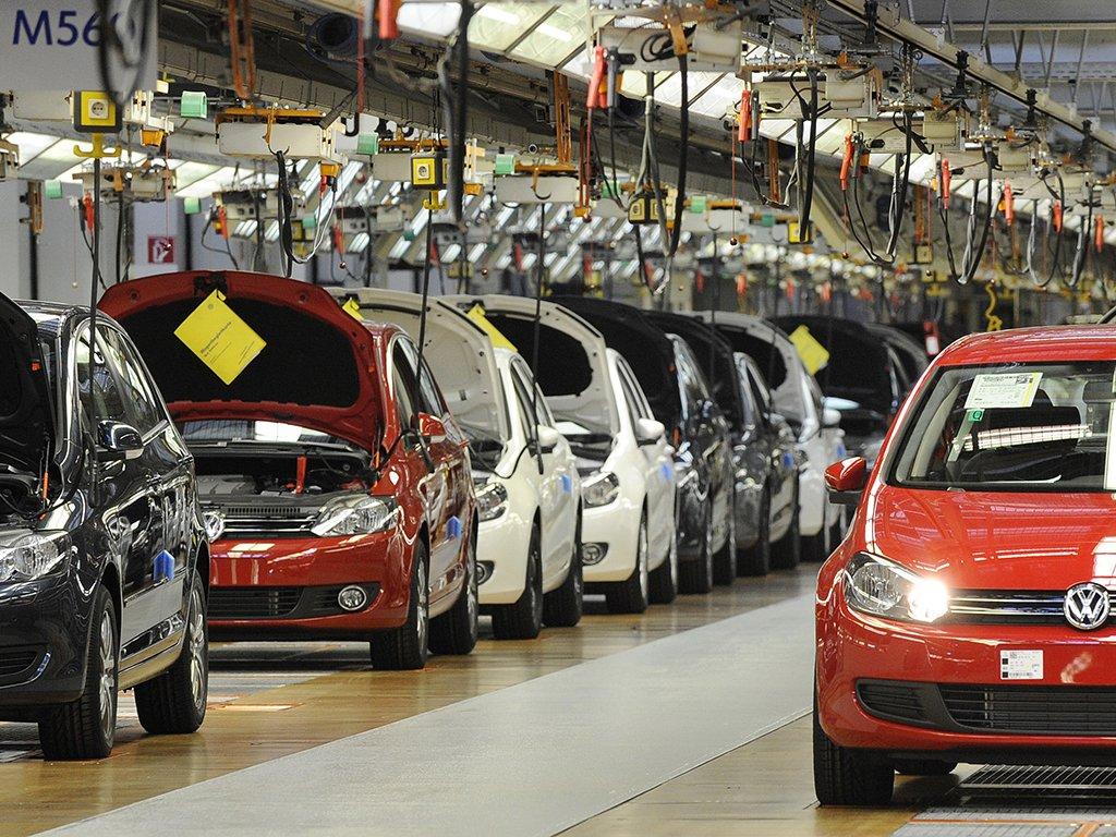 La industria de automoviles en Alemania