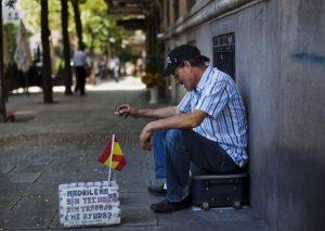 4 millones desempleados en España 2