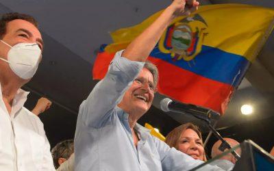 Exbanquero ecuatoriano gana elecciones